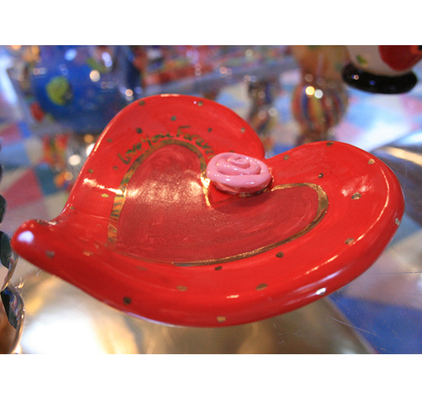 Heart Shaped Soap Dish With Message Mary Rose Young